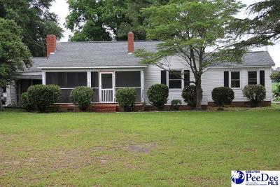 Hartsville Single Family Home For Sale: 1648 Bobo Newsom Hwy