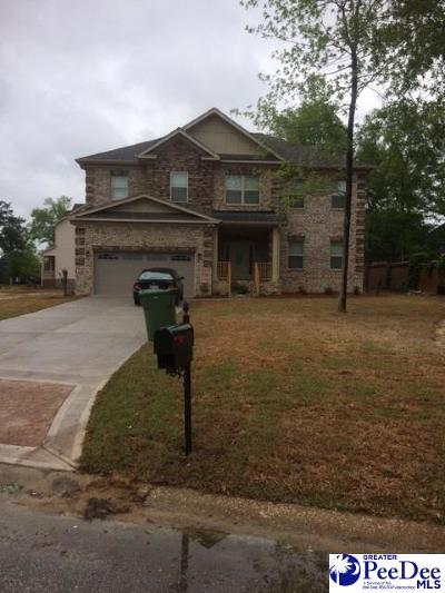 Florence Single Family Home Uc/Show For Back Up: 1785 Lake Wateree Drive