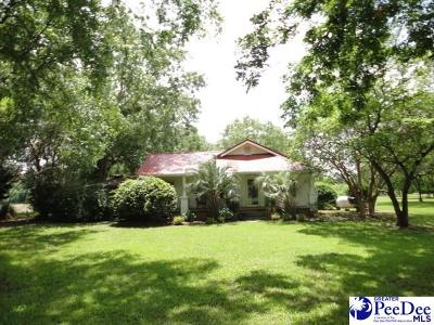 Timmonsville Single Family Home Uc/Show For Back Up: 3288 Ramblewood Road