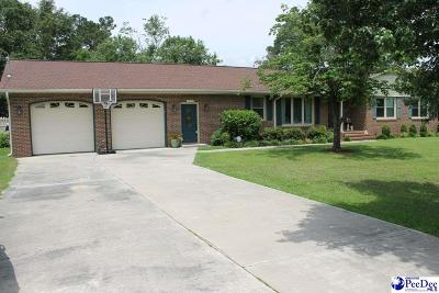 Florence Single Family Home Uc/Show For Back Up: 919 S Dunes Drive