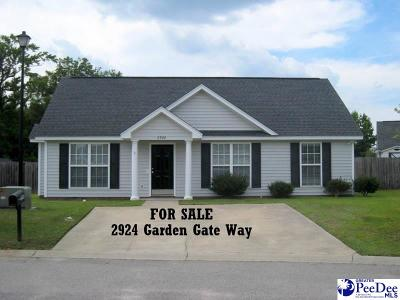 Single Family Home Sold: 2924 Garden Gate Way