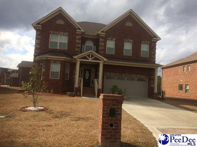 Florence Single Family Home Uc/Show For Back Up: 1787 Lake Wateree