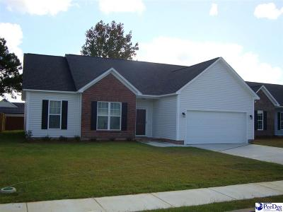 Effingham SC Single Family Home Uc/Show For Back Up: $157,900