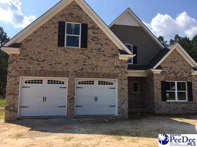 Hartsville Single Family Home Uc/Show For Back Up: 646 Saddlewood
