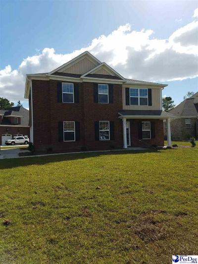 Florence SC Single Family Home Uc/Show For Back Up: $242,359