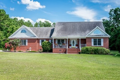 Johnsonville Single Family Home For Sale: 572 S Deep Wood Road