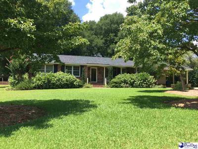 Hartsville Single Family Home For Sale: 508 Clyburn Ave