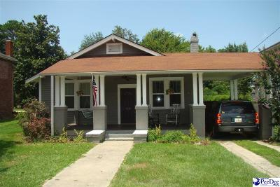 Florence Single Family Home Uc/Show For Back Up: 913 W Palmetto Street