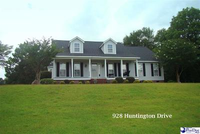 Hartsville Single Family Home Uc/Show For Back Up: 928 Huntington Drive