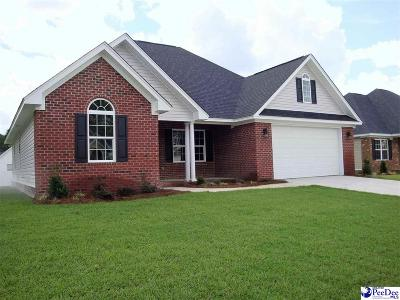Florence SC Single Family Home For Sale: $206,000