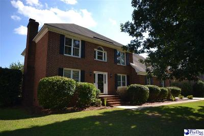 Florence Single Family Home Uc/Show For Back Up: 816 Lancelot Drive
