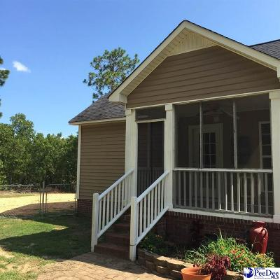 Hartsville Single Family Home Uc/Show For Back Up: 1406 Gordon Drive