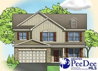 Florence SC Single Family Home Uc/Show For Back Up: $236,490