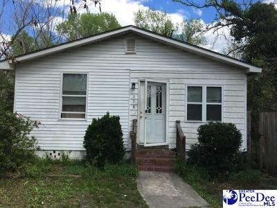 Florence Single Family Home For Sale: 158 N Alexander St.