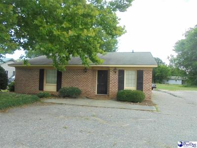 Florence, Flrorence, Marion, Pamplico Commercial For Sale: 205 Railroad Ave.