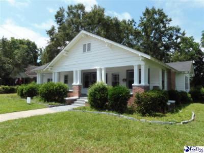Timmonsville Single Family Home For Sale: 206 S Keith St