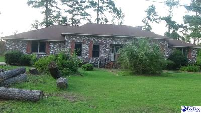 Florence SC Single Family Home For Sale: $227,000