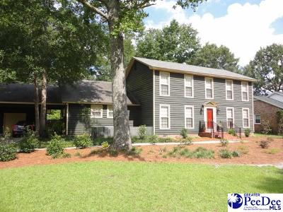 Florence Single Family Home For Sale: 1604 Partridge Drive