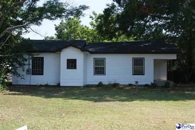 Dillon Single Family Home For Sale: 1604 E Calhoun Street