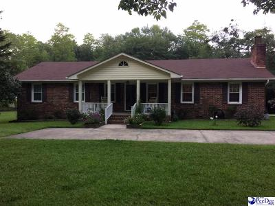 Hartsville Single Family Home For Sale: 724 Crescent Dr