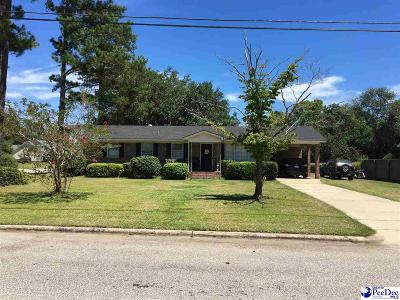 Marion SC Single Family Home For Sale: $114,000