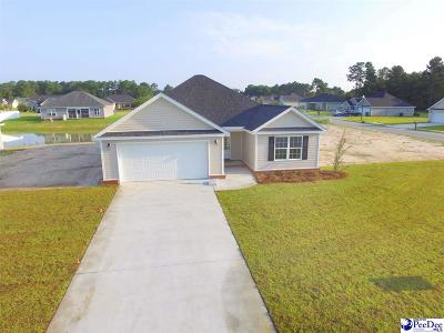 Florence SC Single Family Home Uc/Show For Back Up: $159,900