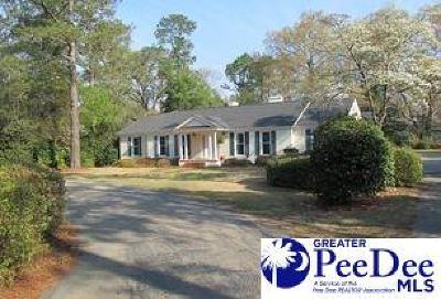 Hartsville Single Family Home New: 1800 W Carolina
