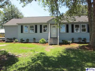 Hartsville Single Family Home For Sale: 2501 E Lydia Highway