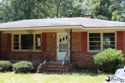 Hartsville Single Family Home For Sale: 605 Lakeview