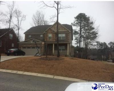 Florence SC Single Family Home Uc/Show For Back Up: $216,990