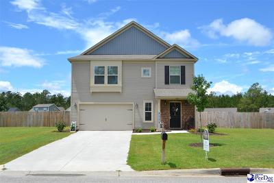 Florence SC Single Family Home For Sale: $166,900