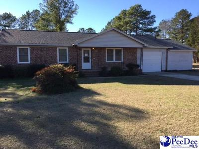 Florence Single Family Home Active-Price Change: 3939 Savannah Grove Road
