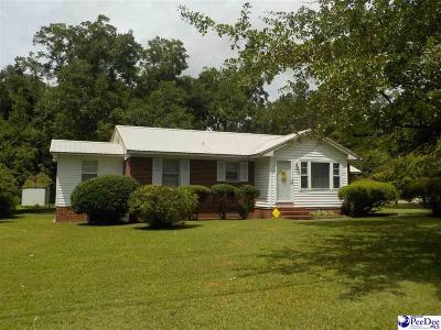Bennettsville Single Family Home For Sale: 1023 Hamlet Highway