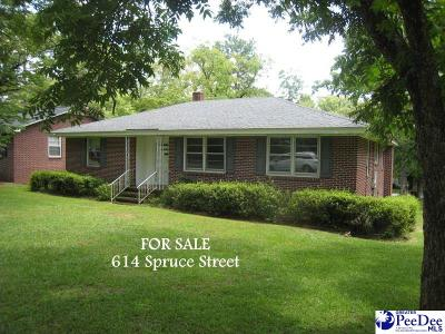 Florence Single Family Home Uc/Show For Back Up: 614 Spruce Street