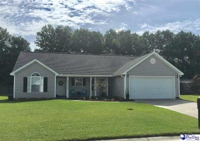 Effingham SC Single Family Home For Sale: $139,900