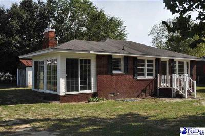 Hartsville Single Family Home For Sale: 2313 Kirven Drive