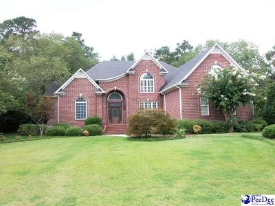 Florence Single Family Home For Sale: 2721 Cypress Bend Road