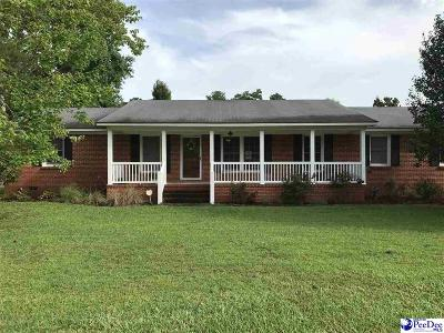 Hartsville Single Family Home For Sale: 1029 Edgewood