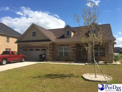 Florence Single Family Home Uc/Show For Back Up: 4118 Lake Moultrie