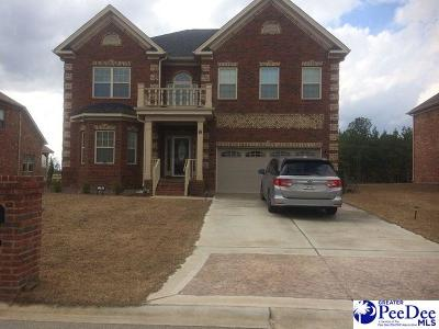 Florence SC Single Family Home Uc/Show For Back Up: $288,745