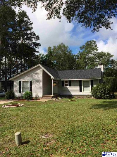 Florence SC Single Family Home For Sale: $114,900
