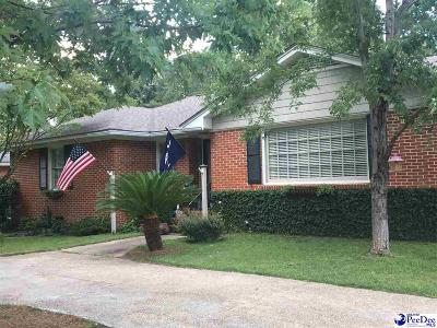 Florence SC Single Family Home For Sale: $152,900