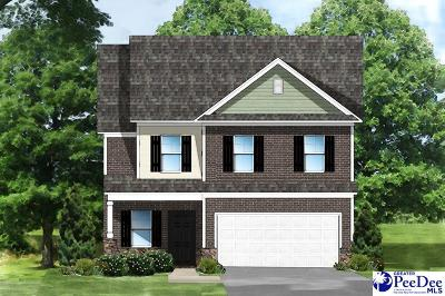 Effingham SC Single Family Home Uc/Show For Back Up: $197,703