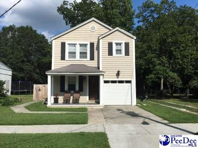Florence SC Single Family Home For Sale: $97,500