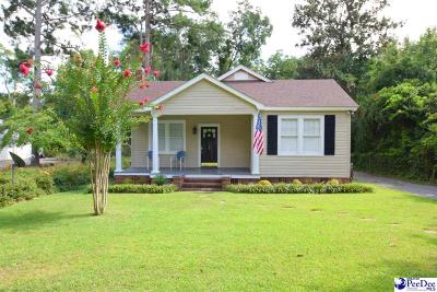 Florence SC Single Family Home For Sale: $127,500