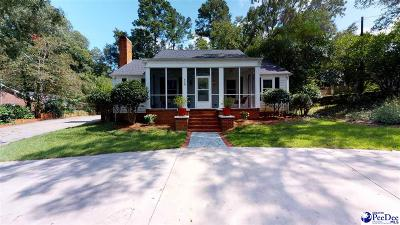 Hartsville Single Family Home Uc/Show For Back Up: 419 Woodland Drive
