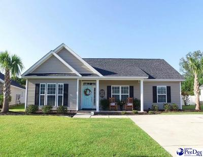 Florence Single Family Home New: 3471 Sweetgrass Dr.