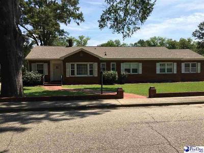 Hartsville SC Single Family Home For Sale: $184,500