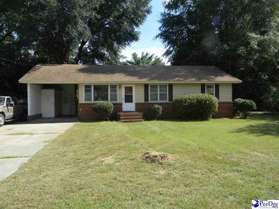 Hartsville Single Family Home For Sale: 917 Nandina St