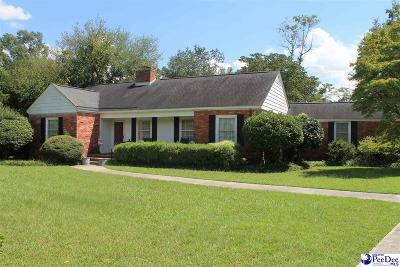 Hartsville Single Family Home For Sale: 534 W Richardson Circle